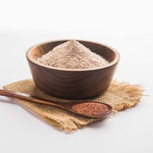 Hand Pounded Finger Millet/Ragi Flour (1 Kg)